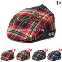 5pcs/lot cute letter baby baseball caps cotton baby boys snapback hat Casquette Peaked Baseball Beret Cap for 1-4T