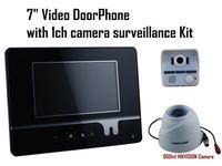 "7"" Video Doorphone LCD Monitor Video Door Phone Intercom Doorbell Camera Hikvision 600tvl infrared Camera Home Security System"