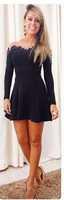 free shipping!2015 The women dress new elegant dress embroidered lace stitching dress