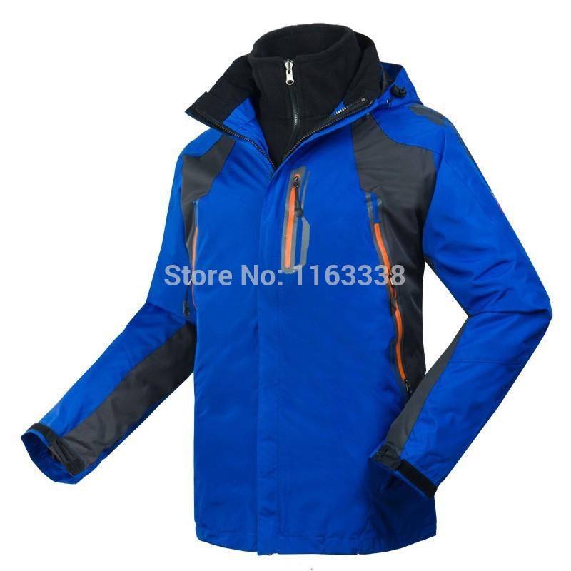 NF Brand The New Men's outdoor hiking jacket windproof jacket waterproof coat skiwear Windbreaker autumn & winter twin set coat(China (Mainland))