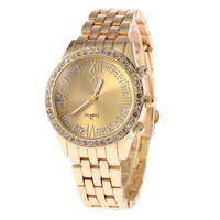 2015 New Female Clothing Watches 3 ATM Waterproof Stainless Steel Strap Watch Fashion Quartz Watches