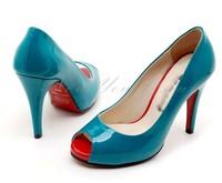 High Qaulity Fashion Pump Peep Toe Pump High Heels Shoes Large Size 43 Pumps Woman Shoes