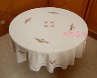 2015 rushed toalha de mesa retangular sequin tablecloth christmas 100% fluid computer round table towel cover 210cm Home Party