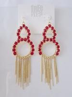 Free pr for ess exquisite Rhinestone earrings
