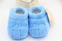 First Walkers Winter babies' shoes toddler shoes coral fleece baby shoes Free shipping