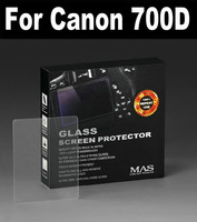 MAS Self-Affixed LCD Screen Protector glass for Canon 700D Special LCD protection screen,Optical glass support touch