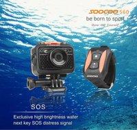 New F100 Full HD 1080P 5.0MP WIFI Action Camera 60M Waterproof Sports Helmet Cycling DV Multi-functional Waterproof Recorder
