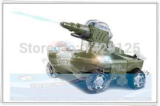 Amphibious tank world large-scale remote wireless control Russian army combat mode rc tank armored war game toys, gifts(China (Mainland))