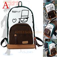 Free Shipping Fashion Detective Conan Canvas School Backpack Shoulders Travel Bag
