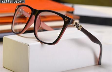 Eyeglass Frame Gold Leopard Designer Fashion Glasses Eyewear Clear Lens HMC good Quality type(China (Mainland))