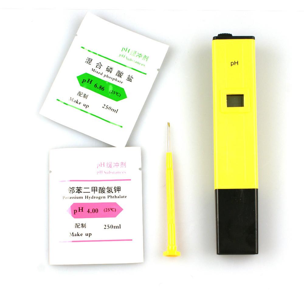 2014 New Digital Electric Pocket Ph Meter Tester Hydroponics Pen Aquarium Pool Water Test High Quality(China (Mainland))