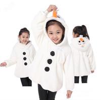 2014 New winter children's Frozen coat, 100% cotton Elsa jacket, Children's recreational coat, girls warm hooded jacket.