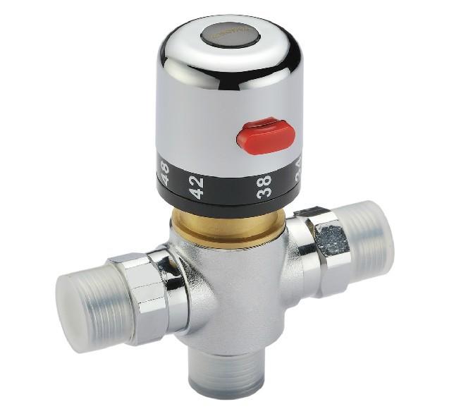Mural mitigeur thermostatique bain douche promotion for Regler temperature chauffe eau