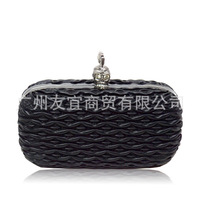 New Arrival Rhinestone Skull Style Clutch Evening Bag High Quality Satchels Ratter Party Hard bag For Women