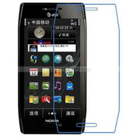 FREE SHIPPING clear screen protector For Nokia X7 cellphone protective guard film 50PCS/LOT