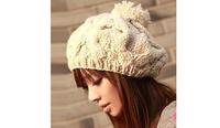 Fashion Womens Knit Baggy Beanie Beret Hat Winter Warm Gorro Winter Hat Beanies Skullies