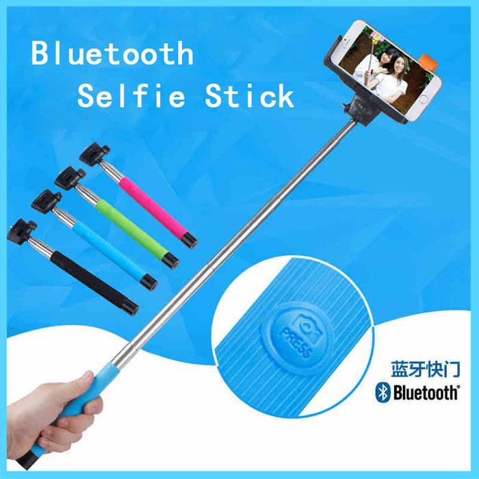 bluetooth remote for selfie stick blu basic aanbieding kopen. Black Bedroom Furniture Sets. Home Design Ideas