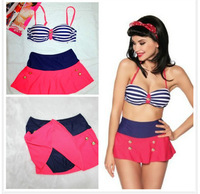 New Europe outside the single high waisted skirt type external single explosion models suits to do it the best swimwear