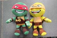 Mixed 4 design Teenage mutant ninja turtles plush Animals dolls 12.9 inch stuffed timnt for kids Christmas gift B001