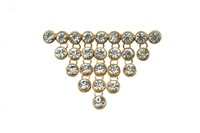 Elegance Dangle Crystal Wedding Brooch