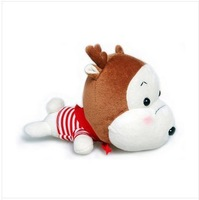 Car air freshener cartoon deer charcoal bag car interior accesories charcoal smell removal car solid perfume