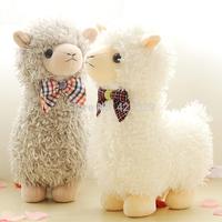 Plush alpaca toy sheep doll pillow horse cute doll mascot gift