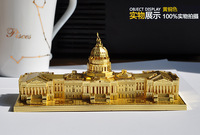 Cool metal DIY assembly model gift 3D three-dimensional puzzle construction congress
