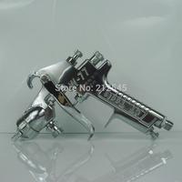 Taiwan Super Tin pneumatic paint gun w-77 ceramic glaze special pressure feed spray gun with hardened coating needles 2.0/2.5mm
