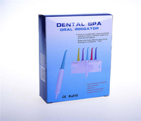 Free shipping Dental water floss Oral Irrigator Dental SPA Teeth Cleaner Tooth Water Teeth Flossing Sets 5 water flossed jets
