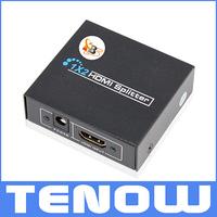 1x2 HDMI Splitter 1 Input 2 Output 2 Ports HDMI Splitter Support 1080P 3D HDTV