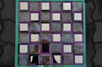 free shipping wholesale hot sale bathroom building material glass mosaic