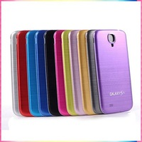 Standard Aluminum + Plastic Replacement Battery Back Cover for Samsung Galaxy S4 IV i9500 Phone case