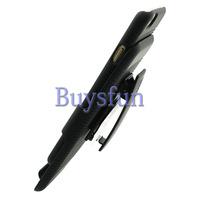 NEW BLACK RUBBERIZED HARD CASE + BELT CLIP HOLSTER FOR iPhone 6 6G 100016218