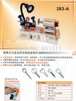 Original wenxing 283A High single key cutting machine can work with both AC and DC Key copy machine  60% free shipping