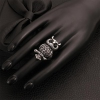 Free shipping! New arrival cute rings designs for girls, gold custom animal rings USR513
