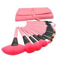 High quality MAKE-UP FOR YOU Professional 24pcs Makeup Brush Set Kit Makeup Brushes & tools Make up Brushes Set Case