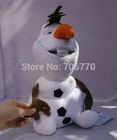 IN HAND!!ON SALE~RETAIL Cartoon Princess Elsa Anna  FRIENDS OLAF SNOWMAN Christmas 16 INCHES 40CM big STUFFED DOLL TOY MOVIE