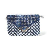 2014 new tide female bag bag set auger cowboy handbag mini shoulder aslant package