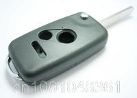 Remote Flip Folding Key Shell Case Fob Keyless Fit For Honda Accord CR-V Ridgeline Pilot Fit