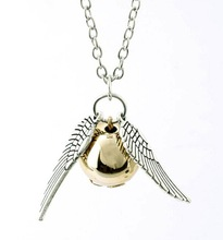 New fashion jewelry Angel wings pendant necklace gift for girl women N1540