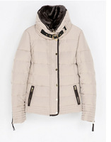 2014 Womens designer slim down parkas with fur hooded patchwork for wholesale and freeshipping