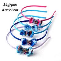 Frozen hair hoop /anna&elsa headdress European children's jewelry 5 Colors B001