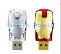 2015Hot selling Ironman style 16GB 32GB 64GB 128GB 256GB USB flash drive good quality pen drive memory stick