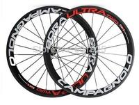 Free Shipping 700c carbon fiber clincher 38mm*25mm Road Bike wheels, road bike full carbon wheels +Powerway R36