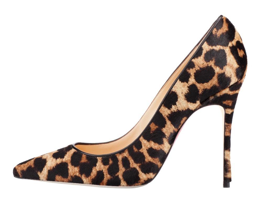 Leopard Print High Heels - Is Heel