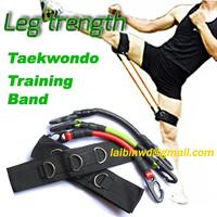 Leg strength workout trainer resistance bands Taekwondo fitness exercise tool equipment