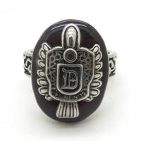 Women and Men Sitcoms Sallatore Damon Movies Red Stone Vampire Ring Biker VIntage Totem Cool Men Jewelry