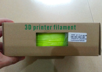 3D Pirnter Filament ABS Luminous Yellow 1KG/Roll Diameter 1.75mm 3.0mm 3D Printer Welding rods