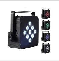 9IN1 LED Flat Par Light High-power flat-panel lamps