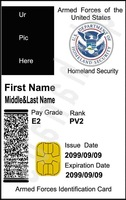 Custom personalized ur pic land 1 movie id card badge + 1 card case & holder